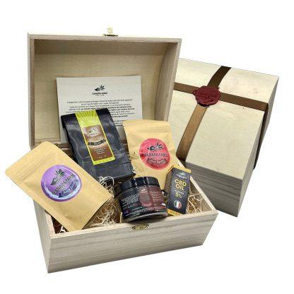 gift box hempy prodotti cannabis light