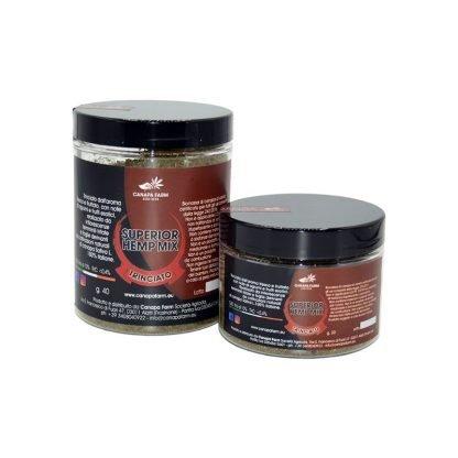 Confezione trinciato canapa sativa hemp mix