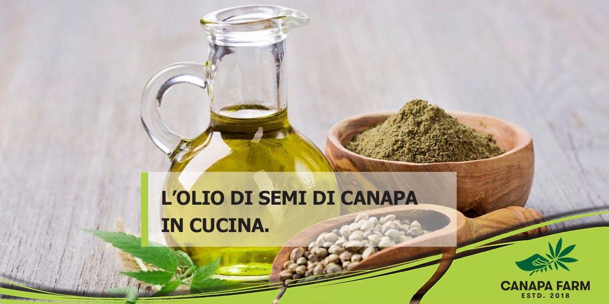 olio di semi di canapa proprieta